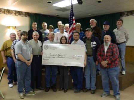 2013-04-12 - BOMP Blue Ridge Sportsmen-donation