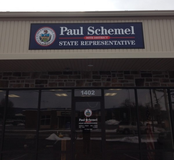 2015-01-09 Rep Paul Schmels office